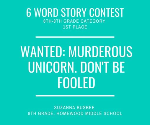 6 Word Story Contest1