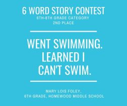 6 Word Story Contest2