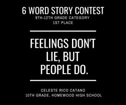 6 Word Story Contest5