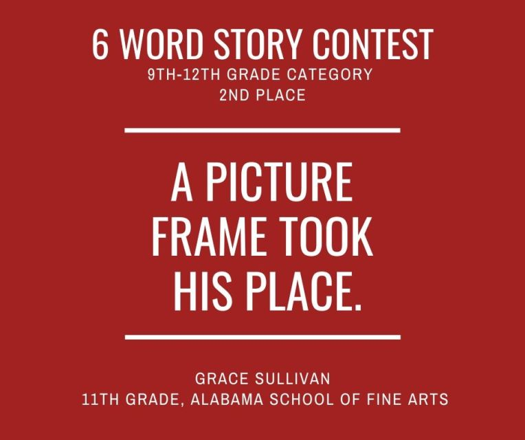 6 Word Story Contest6